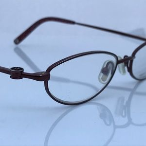 Coach Ladies Eyeglasses Frame Metal Pamela 115 Bor
